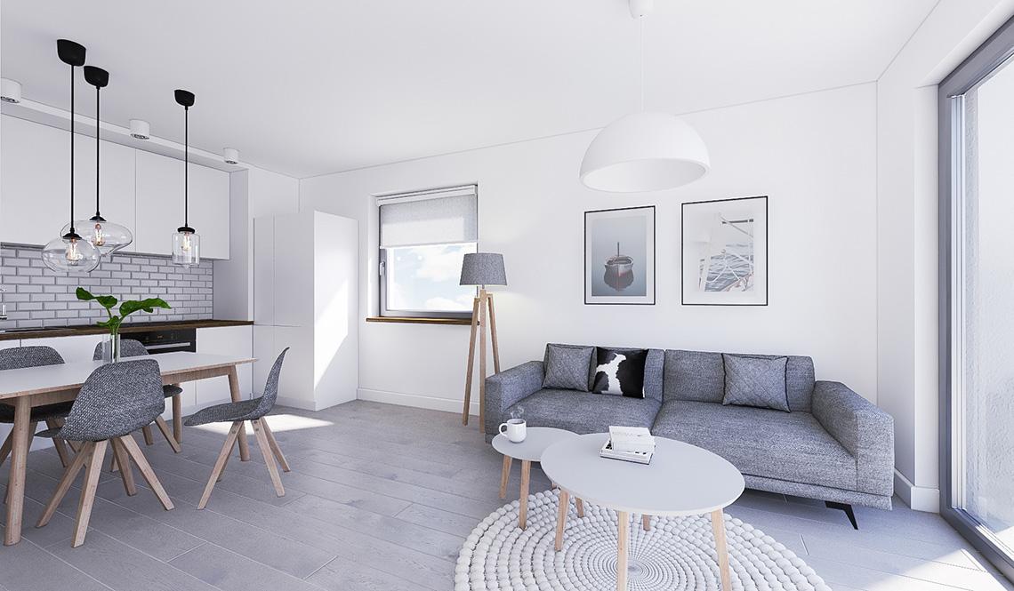 Mieszkanie wykończone pod klucz v3